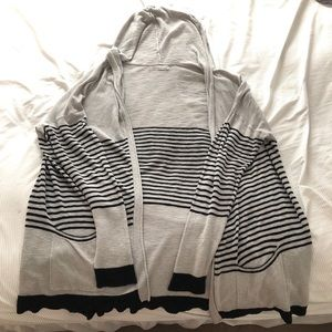 Maurices Plus size 3 striped cardigan